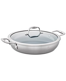 Zwilling Spirit Stainless Steel Ceramic Non-Stick 4-Qt. Braiser