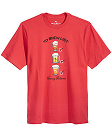 Tommy Bahama Men's To Brew List Graphic-Print T-Shirt