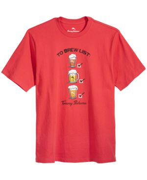 Tommy Bahama Men's To Brew List Graphic-Print T-Shirt 6169025