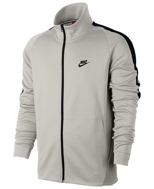 d52afc1c Nike Men's Sportswear N98 Jacket & Reviews - Coats & Jackets - Men ...