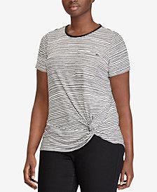 Lauren Ralph Lauren Plus Size Relaxed Fit T-Shirt