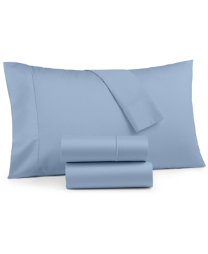 Image of Charter Club Sleep Cool 3-Pc. Twin Sheet Set, 400 Thread Count Cotton Tencel, Created for Macy's Bedding