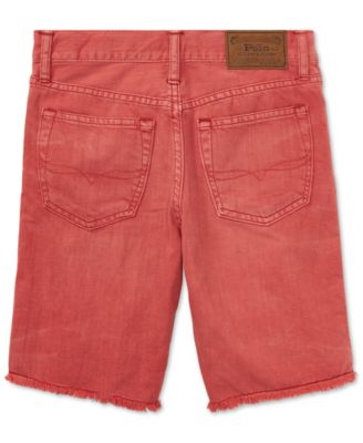 Polo Ralph Lauren. Cotton Denim Cutoff Shorts, Toddler Boys. 5 reviews.  $29.50. Sale $22.12 (25% off) Sale ends 8/13/18. main image ...