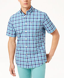 Tommy Hilfiger Men's Jason Plaid Shirt, Created for Macy's