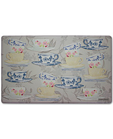"Laura Ashley Tea Party Anti-Fatigue Gelness 20"" x 32"" Kitchen Mat"
