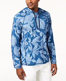 Tommy Bahama Men's Playa Mambo Hooded Shirt