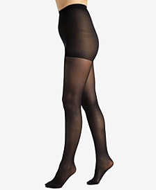 Women's  Shimmers Opaque Control Top Tight 4643