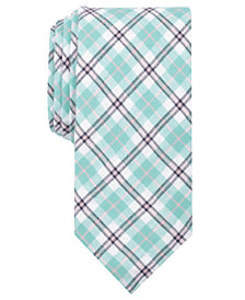 Tallia Men's Kendrick Plaid Slim Tie