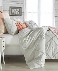 Peri Home Chenille Lattice 3-Pc. Full/Queen Comforter Set