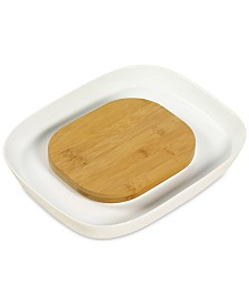 Tabletops Unlimited Cheese & Cracker Set