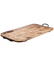 "Tabletops Unlimited 24"" Soft Rectangular Reclaimed Wood Board"