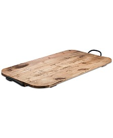 """Tabletops Unlimited 24"""" Soft Rectangular Reclaimed Wood Board"""