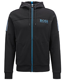 BOSS Men's Regular/Classic-Fit Embroidered Logo Sweatshirt