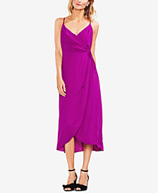 Vince Camuto Maxi Wrap Dress