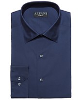 af625d501c AlfaTech by Alfani Men s Slim-Fit Performance Stretch Easy-Care Solid Dress  Shirt