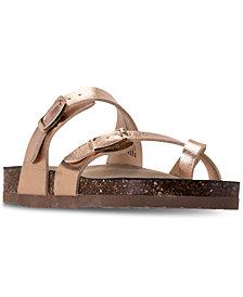 Steve Madden Little Girls' JBEACHED Sandals from Finish Line