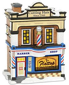 Department 56 Villages Flattop Barbershop