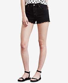 Women's 501 Cotton High-Rise Denim Shorts