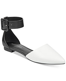 Marc Fisher Alfoso Pointed-Toe Flats