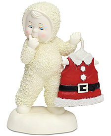 Department 56 Snowbabies Baby's Got New Clothes Figurine