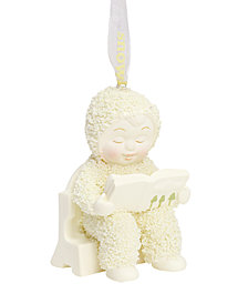 Department 56 Snowbabies First Book Ornament