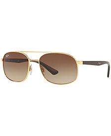 Ray-Ban Sunglasses, RB3593 58