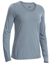 EMS® Women's Techwick® Vital Long-Sleeve V-Neck T-Shirt