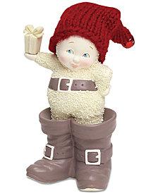 Department 56 Snowbabies In Santa's Boots Figurine