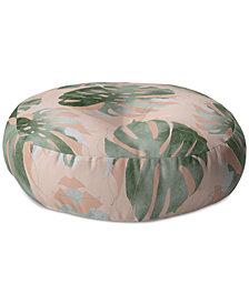 Deny Designs Bohemian Monstera Floor Pillow