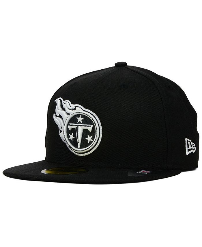 New Era - Black And White 59FIFTY Fitted Cap