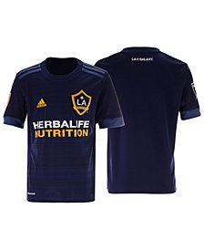 adidas LA Galaxy Secondary Replica Jersey, Big Boys (8-20)