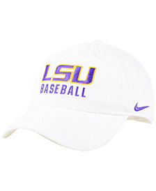Nike LSU Tigers Campus Sport Adjustable Cap