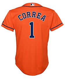 Carlos Correa Houston Astros Player Replica Cool Base Jersey, Big Boys (8-20)