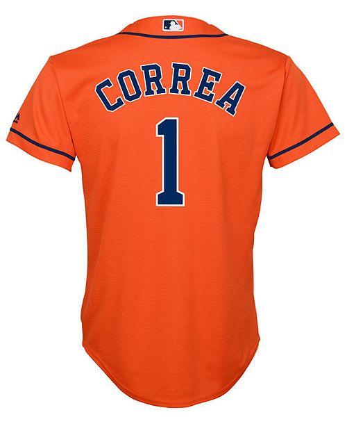 39382ba2c Majestic. Carlos Correa Houston Astros Player Replica Cool Base Jersey