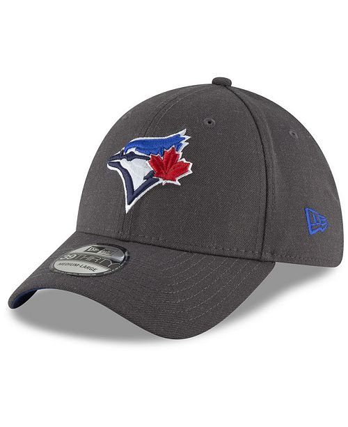 New Era Toronto Blue Jays Charcoal Classic 39THIRTY Cap