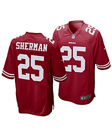 Richard Sherman San Francisco 49ers Game Jersey, Big Boys (8-20)