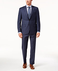 Lauren Ralph Lauren Men's Classic-Fit Ultraflex Stretch Blue Stripe Suit