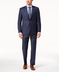 Lauren Ralph Lauren Men's Classic-Fit Ultraflex Stretch Blue Stripe Suit