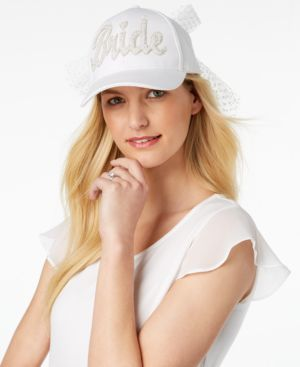Betsey Johnson Retro Bride Baseball Hat 5508506