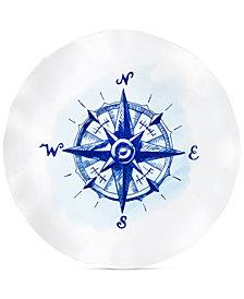 """Q SquaredPortsmouth 16"""" Melamine Platter"""