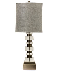 Harp & Finial Perry Table Lamp