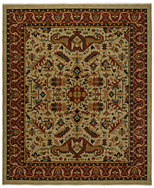 KM Home Vintage Serapi Area Rug Collection