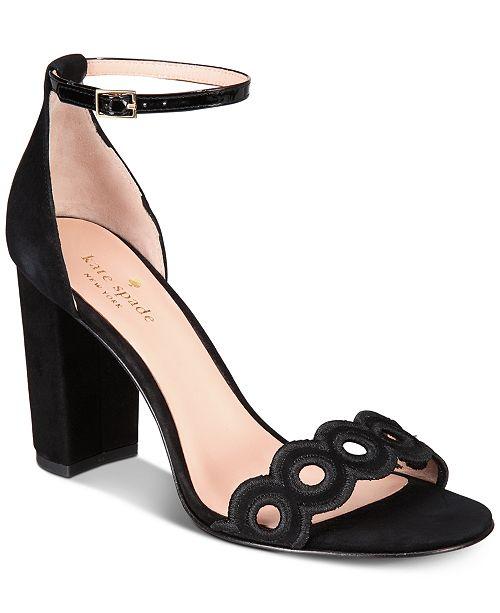 5c718fd8ce44 kate spade new york Orson Block-Heel Sandals   Reviews - Sandals ...