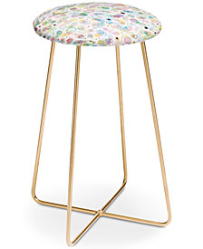 Deny Designs Ninola Design Pastel Bubbles Counter Stool