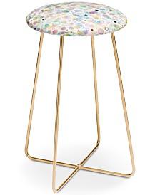 Deny Designs Ninola Design Pastel Bubbles Counter Stool
