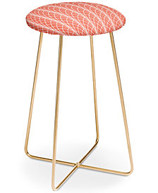 Deny Designs Heather Dutton Arcada Persimmon Counter Stool