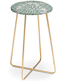 Deny Designs Gabi Mint Counter Stool