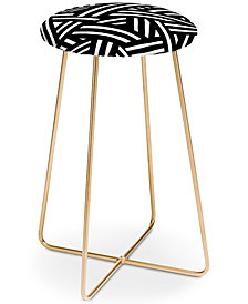 Deny Designs The Old Art Studio Monochrome Counter Stool