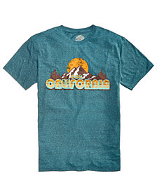C&C California Men's Outdoor Adventures Graphic-Print T-Shirt