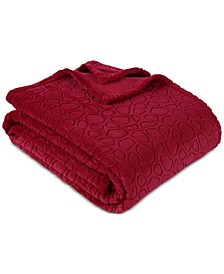 "PrimaLush™ Pebbles Embossed 108"" x 90"" King Bed Blanket"